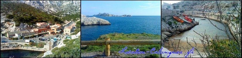 La Calanque de Callelongue entre Marseille et Cassis