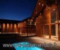 location calanques, une maison en bois